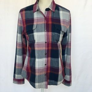 Toad&Co Flannel Mojacette Overshirt Size S